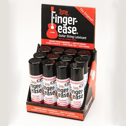 Finger-Ease display open