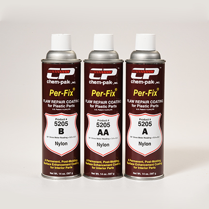 Plastic Flaw Repair Coatings